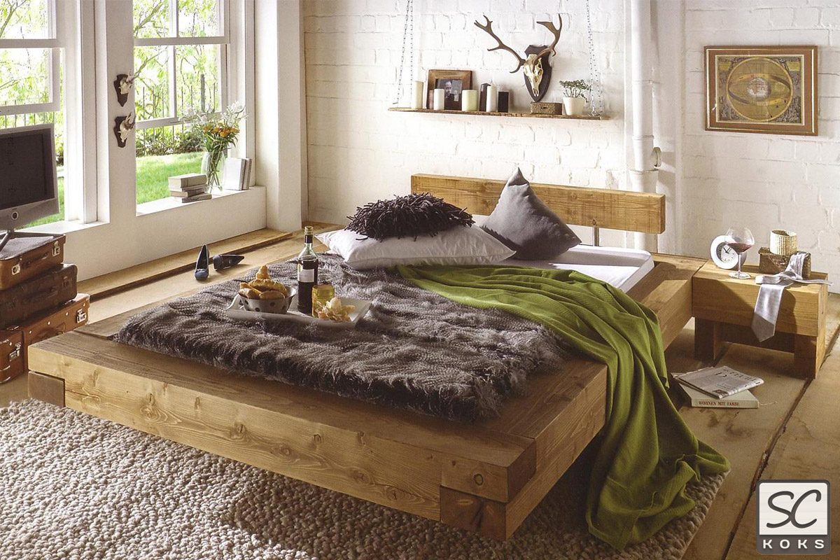 holzbetten hochwertige betten aus massivholz kaufen. Black Bedroom Furniture Sets. Home Design Ideas